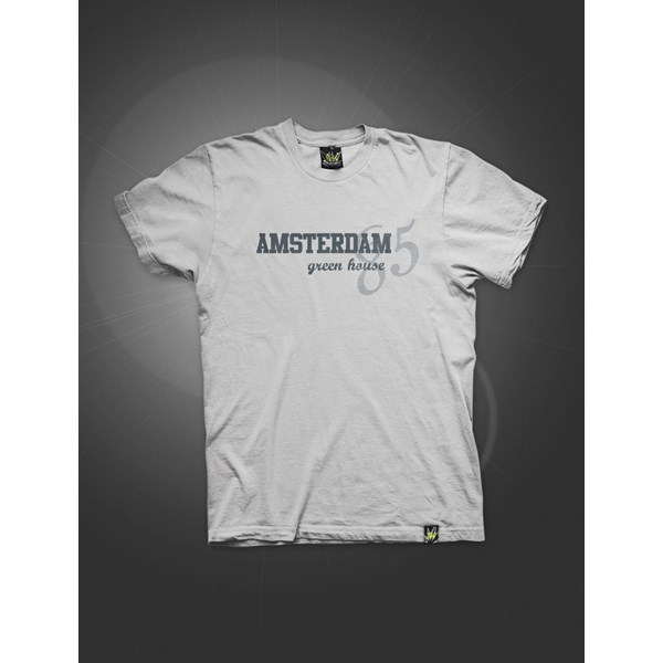 '85 T-Shirt Jersey Grey (ATS017)