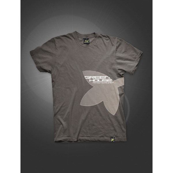 Big Leaf T-Shirt Grayish Brown (ATS021)