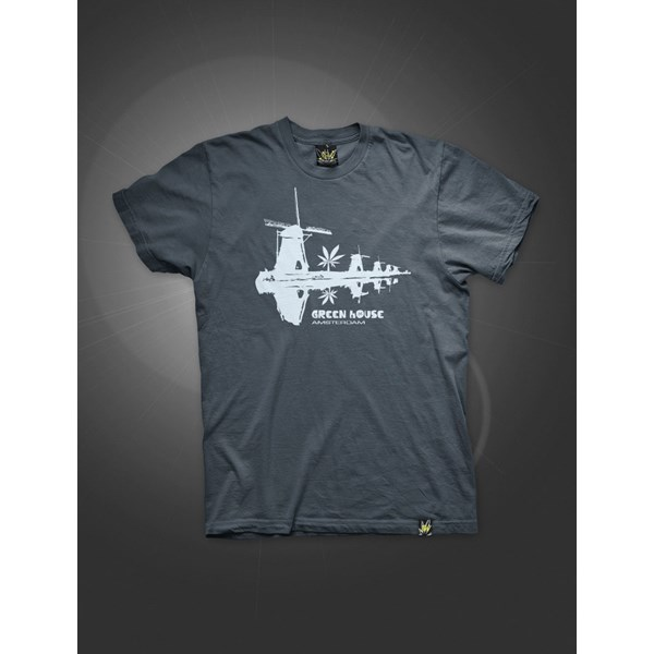 Dutch Mulini T-Shirt Washed Blue Navy (ATS023)