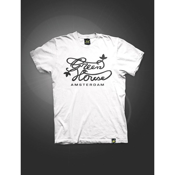 Green House Co Logo T-Shirt White (ATS027)