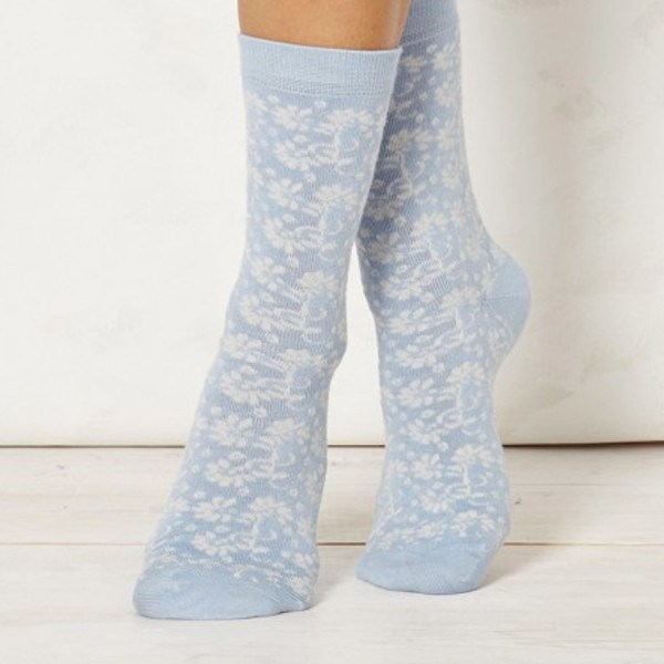 Ladies Nina Soft Sky Bamboo Socks