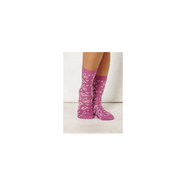 Ladies Caro Raspberry Bamboo Socks