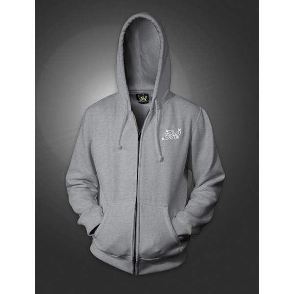 Green House Co Logo Zip Hoody Grey (CMHZ005)