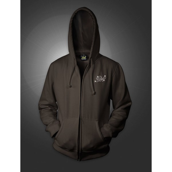 India Expedition Hoody With Zipper Brown (CMHZ0008)