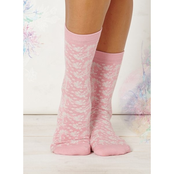 Ladies Nina Soft Melon Bamboo Socks