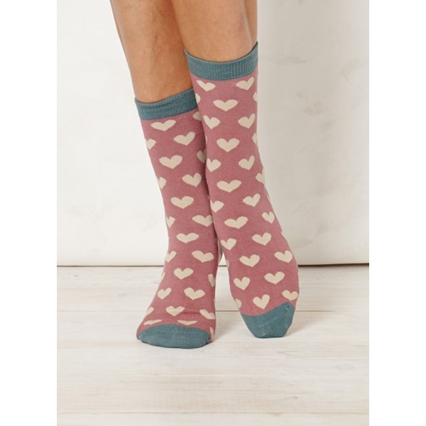 Ladies Lover Blush Bamboo Socks