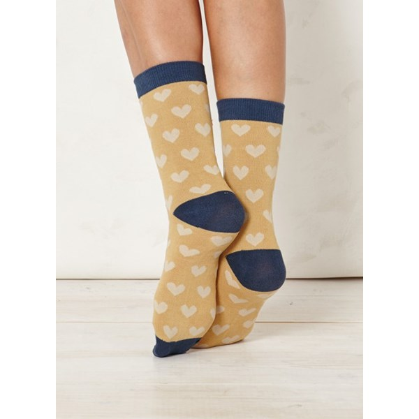 Ladies Lover Sand Bamboo Socks