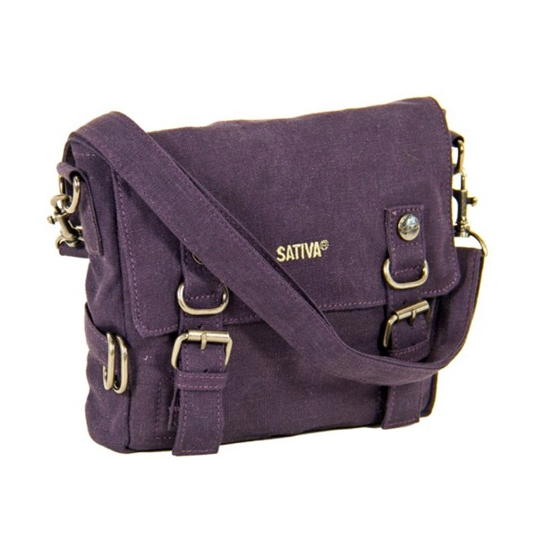 Small Shoulder Bag With Buckles